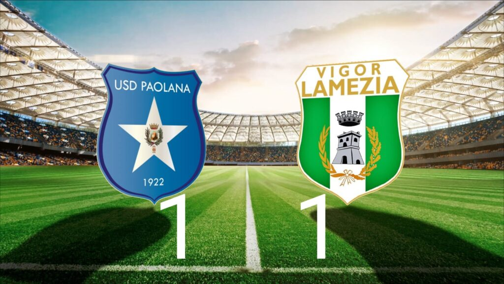 Paolana vs Vigor Lamezia - Final Score